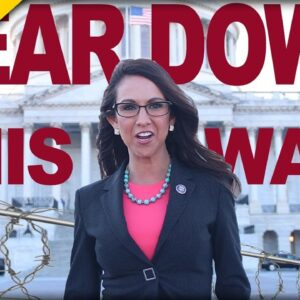EPIC! Watch This Congresswoman COMPLETELY DESTROY Pelosi's Wall Around the Capitol Building