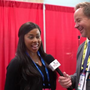 Interview with Kim Klacik at CPAC 2021 2/28/21
