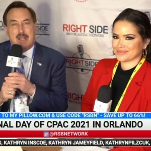 Interview with My Pillow CEO Mike Lindell at CPAC in Orlando 2/28/21