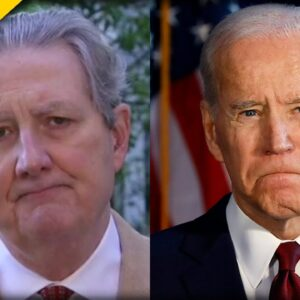 Sen. Kennedy Reveals What Biden will do with the Remaining Border Wall Funding