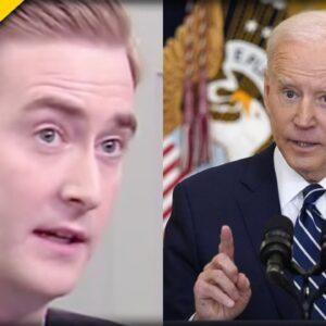 Biden Snubs FOX Reporter Peter Doocy at Press Conference - Here's How He Reacted
