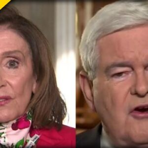 OMG! Newt Gingrich ANNIHILATES Pelosi and Her Plans for the House