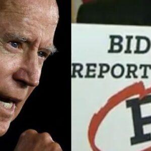 "Republican Senator gives Biden an ""F"""