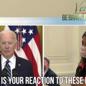 WATCH: Biden laughs and smirks when questioned about Veritas' leaked migrant detention center images