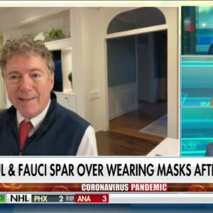 Sen. Paul Discusses Fauci Exchange on Fox - March 19, 2021