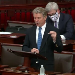 Sen. Paul's Budget Point of Order on Senate Floor - March 25, 2021