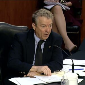 Senator Paul's Opening Statements at HELP Hearing - March 18, 2021