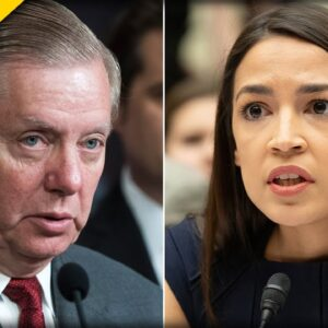 Lindsey Graham Just TORCHED AOC for Staying Silent on Biden's Border Crisis