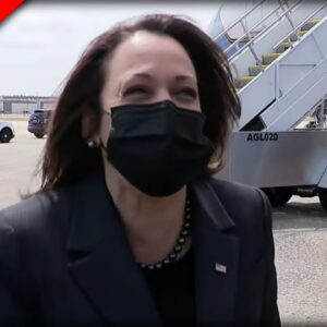 Kamala Harris Just Disgraced the ENTIRE Country by Laughing at Serious Border Question