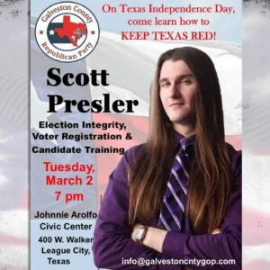 🔴 How to Keep Texas Red: Texas Independence Day w/Scott Presler LIVE 3/2/21