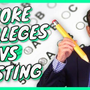Woke Colleges vs Testing