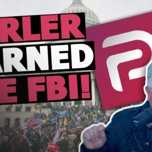 Parler WARNED the FBI About Capitol Riot Threats…but Still Got Blamed?!?   The Glenn Beck Program