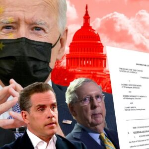 Larry Klayman Presents the Citizen's Grand Jury with Criminal Indictments of the Bidens & McConnell