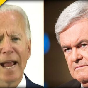 """Newt Gingrich goes SCORCHED EARTH on Joe Biden for his Disgraced """"Jobs"""" Plan"""