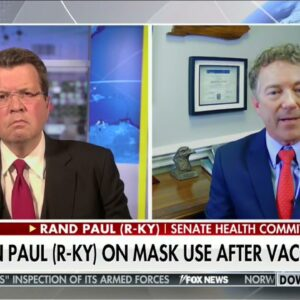 Dr. Paul Joins Neil Cavuto to Discuss Vaccine Passports and Masks - April 6, 2021