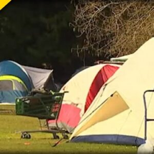 Parents OUTRAGED After Finding Public Schools Have Become Homeless Tent Camps