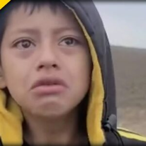 Where's AOC? This Viral Video of ABANDONED Boy at Biden's Border Will Drive You To Tears