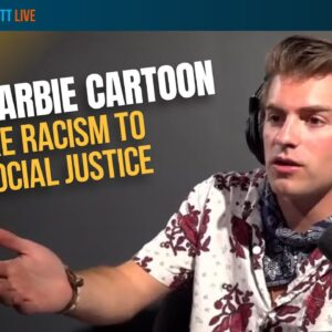 Barbie Cartoon FAKES Racism To Indoctrinate Children   Will Witt Live