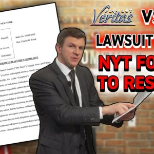 LEGAL UPDATE: NYT FORCED by court to ANSWER Veritas's defamation allegations, STUNNING Admissions