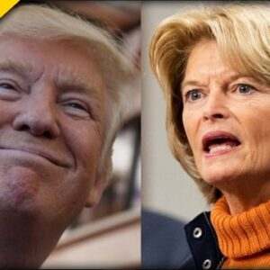 Trump CELEBRATES after Alaskan RINO Indicates She May Not Run for Reelection