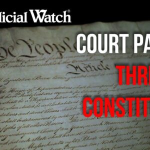 Court Packing Will Destroy Legitimacy of Supreme Court! | Tom Fitton