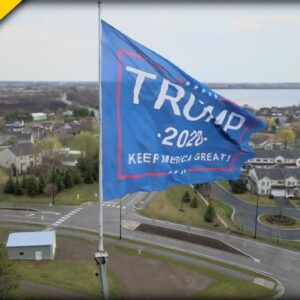 MN Business Owner Stands His Ground after His Massive Trump Flag draws Heavy Backlash