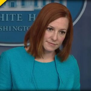 Watch Psaki Cover for Disgraced Kamala Harris Like Her Life is on the Line