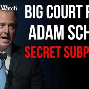 Judicial Watch vs Schiff on His Secret Subpoenas!