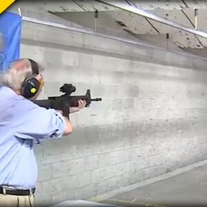 EPIC! Lindsey Graham Shows Off His AR-15 Skills As He Takes A Stand For The 2nd Amendment