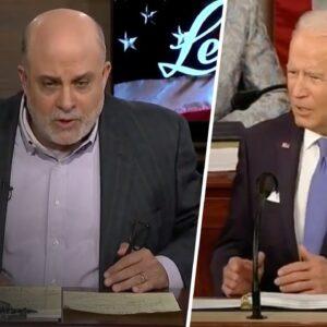 Mark Levin SHREDS Biden's Radical First Address to Congress