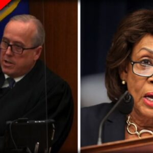 Maxine Waters In DEEP TROUBLE After Trial Judge BLASTS Her - Her Response is DISGUSTING