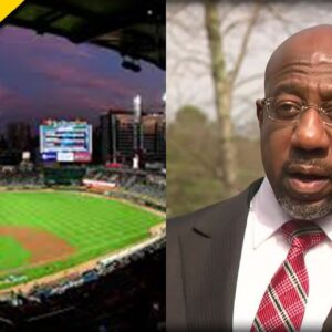 Everyone Looked Up And Saw Raphael Warnock PUBLICLY Humiliated after MLB Boycott