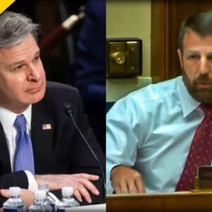 HERO Rep. SCOLDS FBI's Chris Wray over Double Standard of Antifa, Trump Supporters