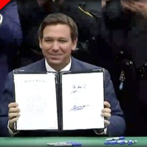 BREAKING: With a stroke of his pen DeSantis makes Rioters WORST Nightmare into Law