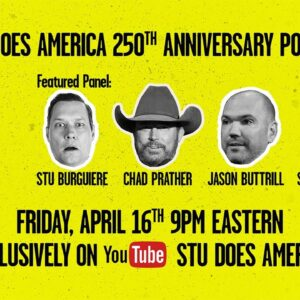 TONIGHT at 9PM ET: Stu Does America's 250th Anniversary Power Hour