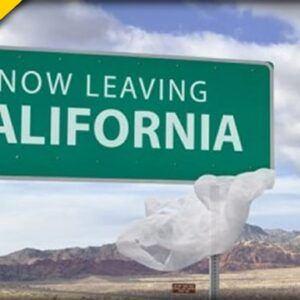 California DESPERATE after MILLIONS Leave after Waking Up and Smelling the Roses