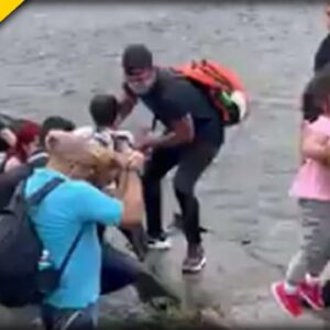 Video Shows WAVES of Illegals Still Crossing into our Country EVERY Day - Biden Admin SILENT