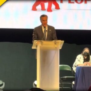 Mitt Romney BOOED off Stage by Republicans - the Person Coming to his Defense Says it All