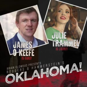 ANNOUNCEMENT: James O'Keefe Lands Lead Role in Off-Broadway Outdoor Production of 'Oklahoma!'