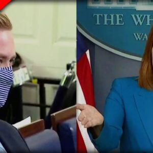 After CDC updates Guidelines, Reporter DESTROYS Psaki - Watch Her Pitiful Reaction