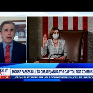 """Pelosi's January 6th Commission """"CLEAR & PRESENT DANGER"""" to Our Liberties!   Tom Fitton"""