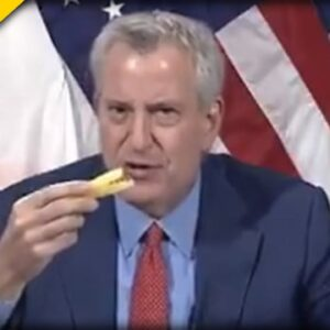 NYC Mayor de Blasio is Trying to Persuade People to Get the Jab with WEIRD Food Video