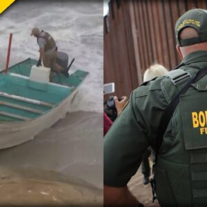 Border Patrol Makes Massive Arrest After Smuggling Boat Capsizes Trying to Get Into America