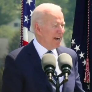 Biden Has CRINGIEST Moment Ever When Cadets Don't Laugh at His Joke