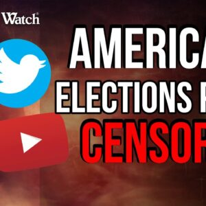 BREAKING: Docs Show CA & Big Tech CENSORED Americans' Election Posts!