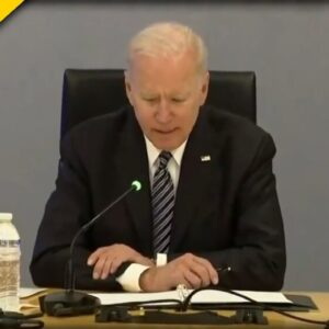 SO SAD! Old Joe Unable to Form Coherent Sentences while Speaking at FEMA Meeting