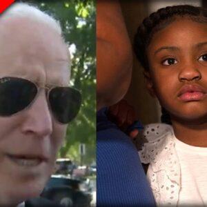 Biden's BIZARRE Interview Reveals CREEPY Details About George Flyod's Little Daughter