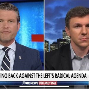 James O'Keefe joined Pete Hegseth on Fox News to discuss Mainstream Media collusion with Big Tech