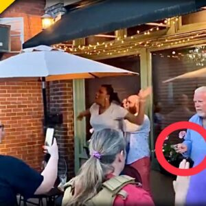 BLM-Antifa Rioters Target Upscale Restaurant in Louisville, Kentucky and it Does NOT End Well