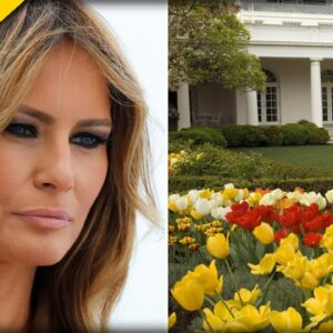 Leftist Radicals Now Targeting Melania Trump's Rose Garden